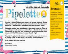 Newsletter Pipelette Senioriales