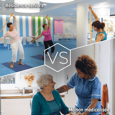 Differences entre residence seniors et maison de retraite